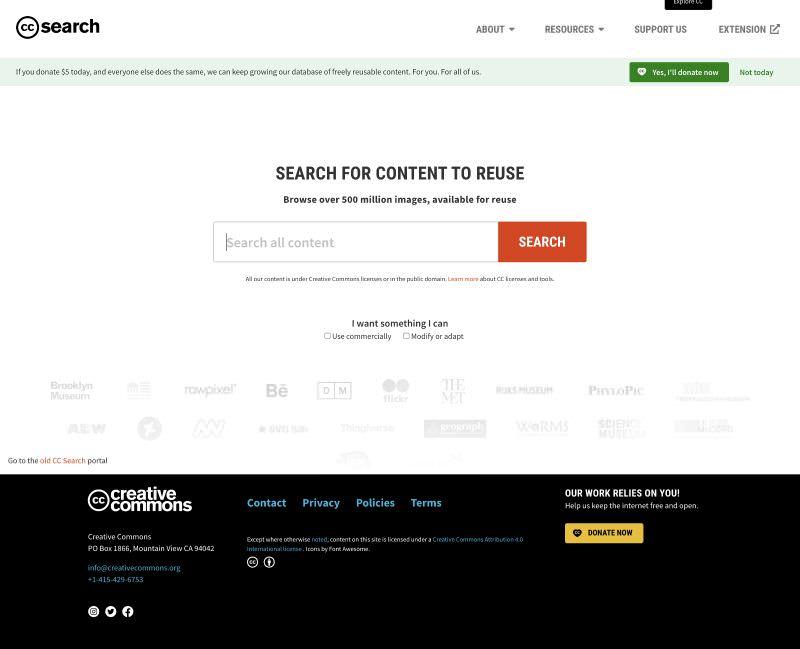 CC search